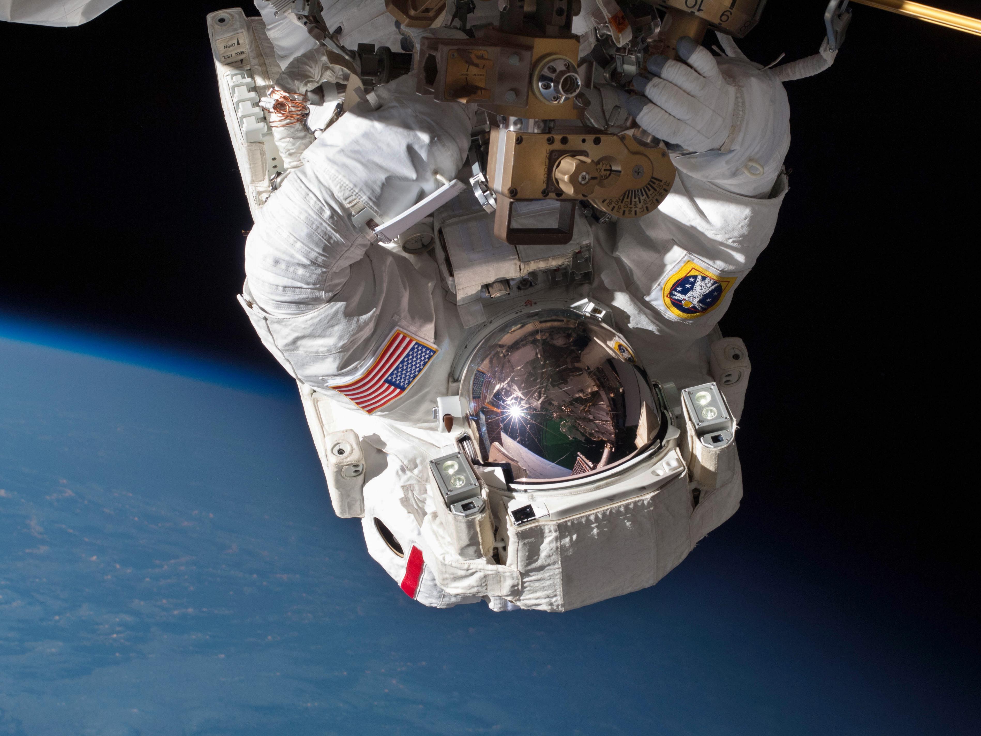 Astronauts Ready For Marathon Spacewalks