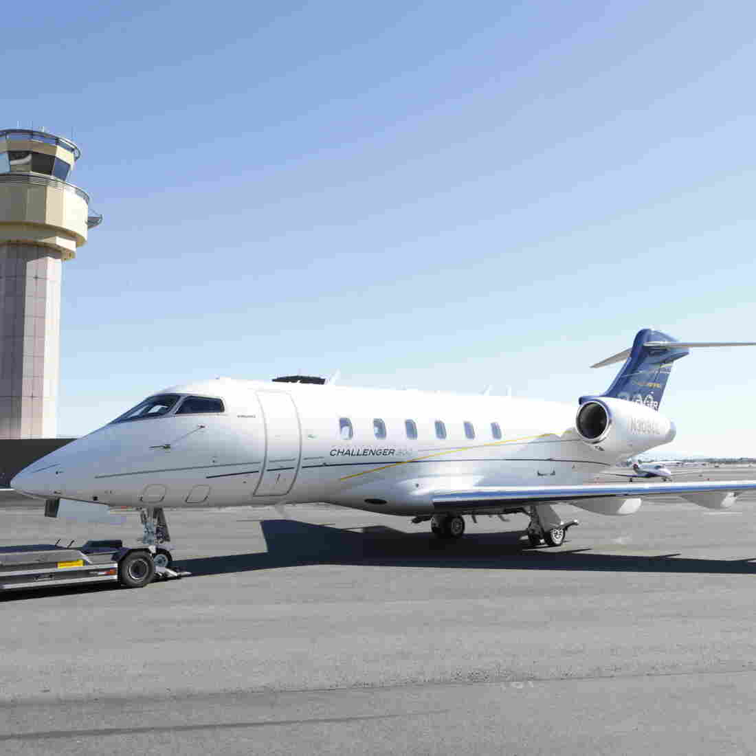 The Bombardier Challenger 300 is one of the most popular midsize business jets in production. Canada-based Bombardier has boomed in the two decades since the North American Free Trade Agreement was signed.