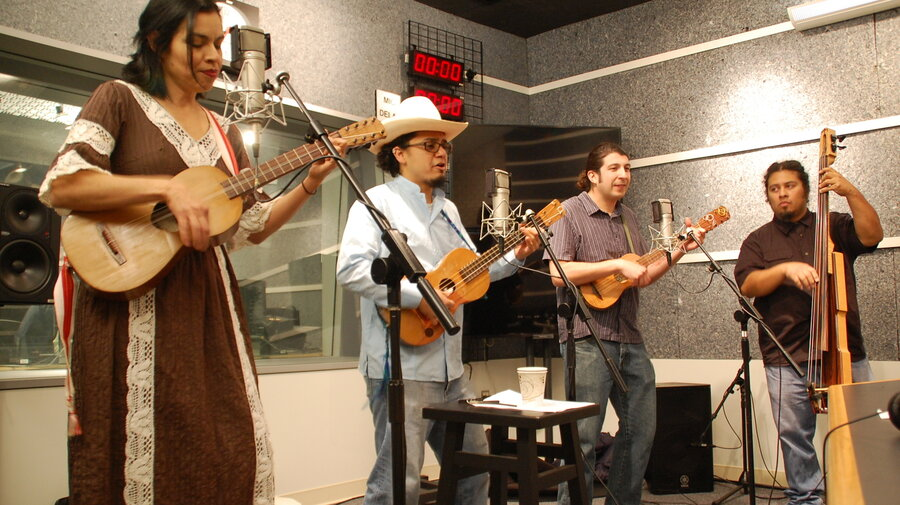 Christmas Jams From Mexico Come Alive In California : NPR