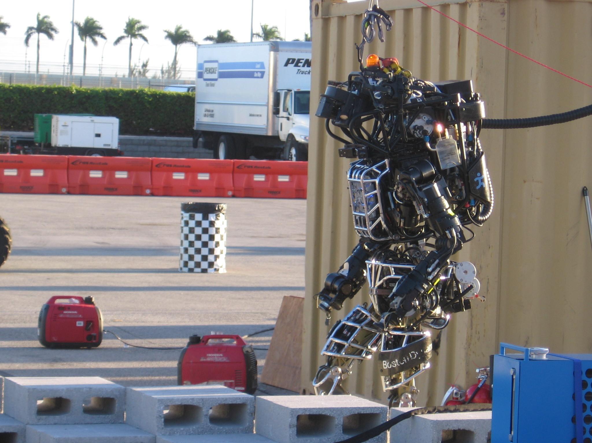 Robot 'Olympics' Test Machines On Human Skills