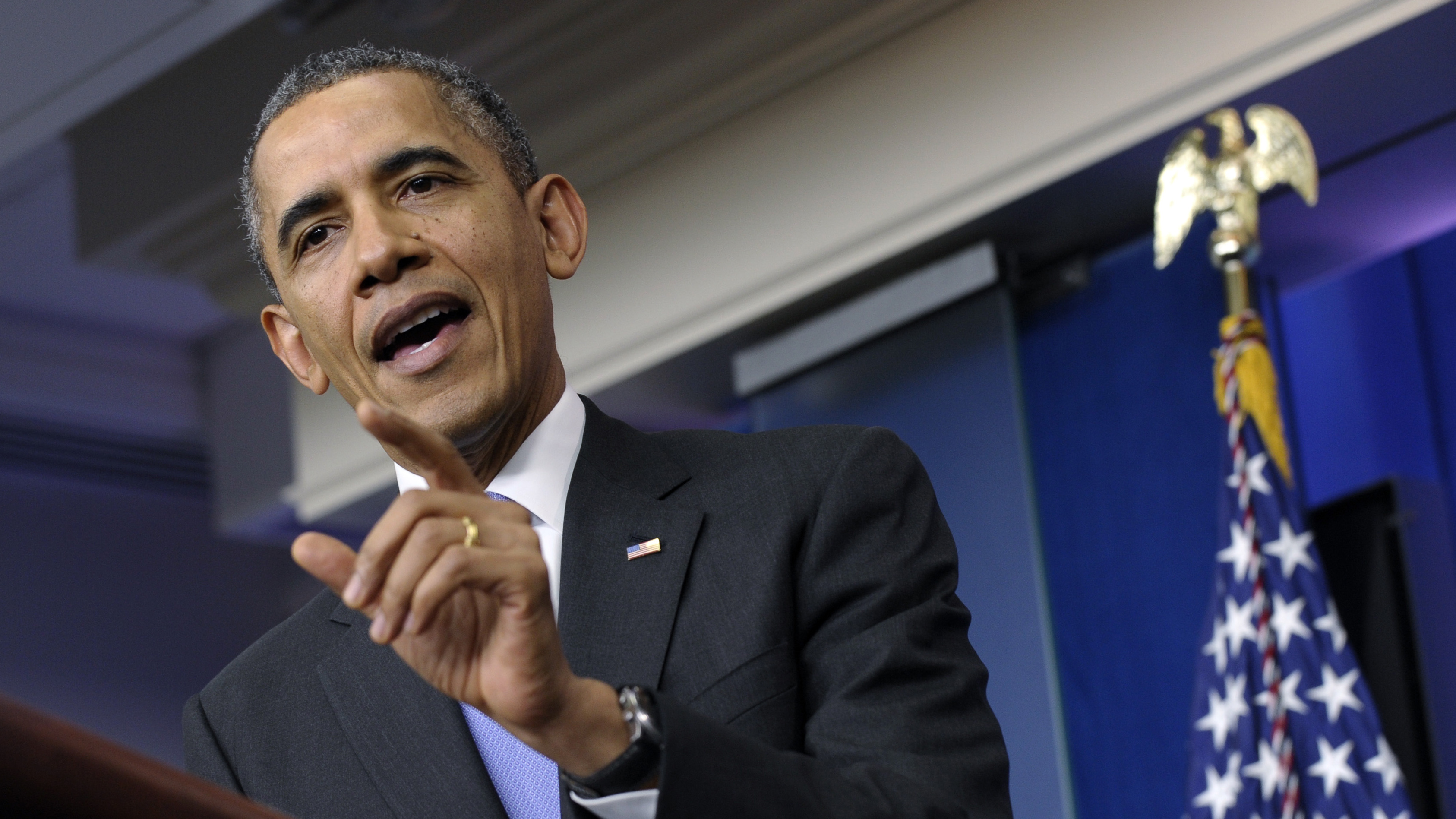 Obama Zings Friends And Foes Alike In Year-End News Conference