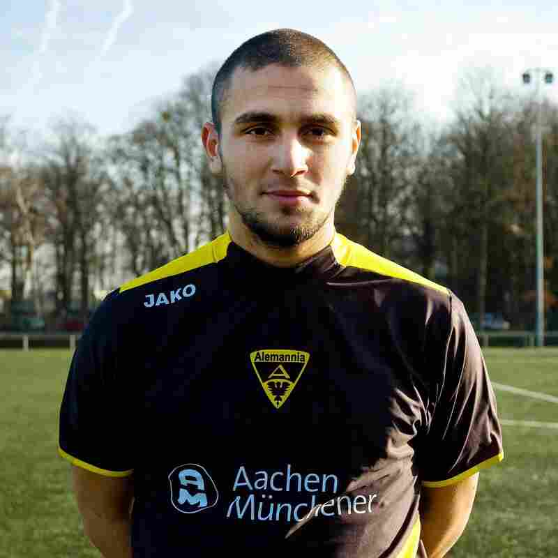 Burak Karan was a rising German-Turkish soccer player before leaving Germany to fight in the Syrian civil war. He was killed in northern Syria in October at age 26. Karan is shown here in Aachen, Germany, in 2008.