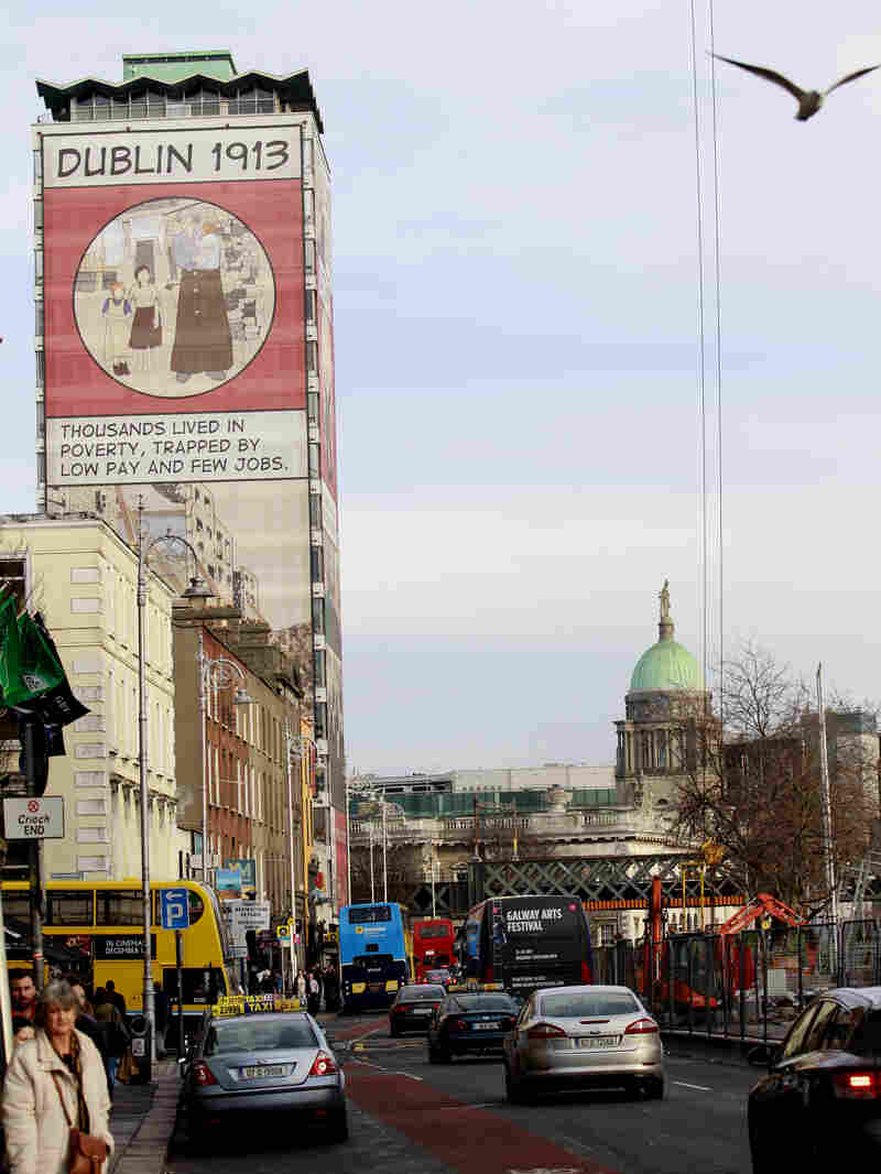 Ireland officially ended its reliance on a $93-billion European loan program on Sunday, but austerity programs are still in place and young people are leaving the country to find work.