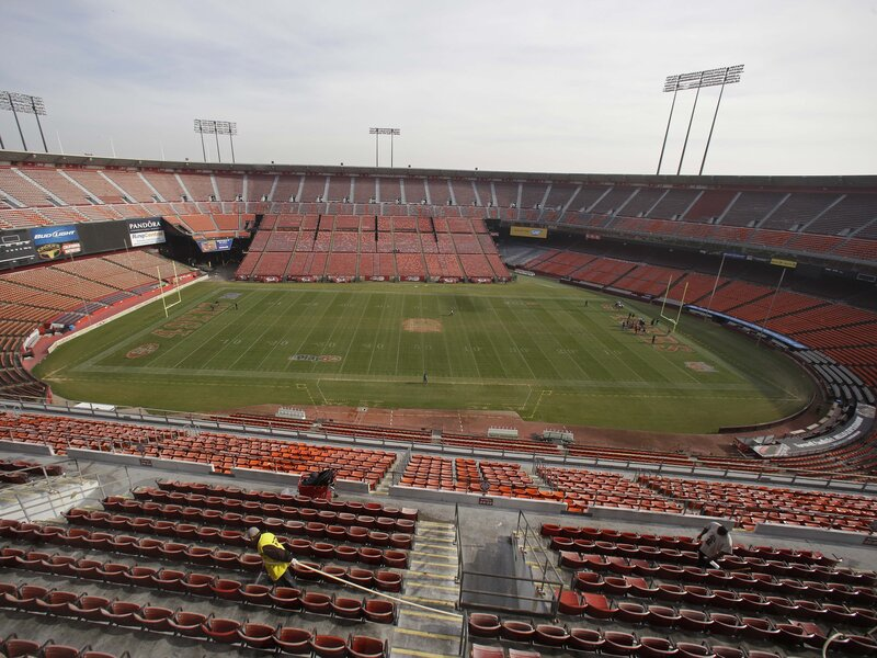 ac3be2220c4 So Long, Candlestick Park, And Thanks For All The Fog : NPR