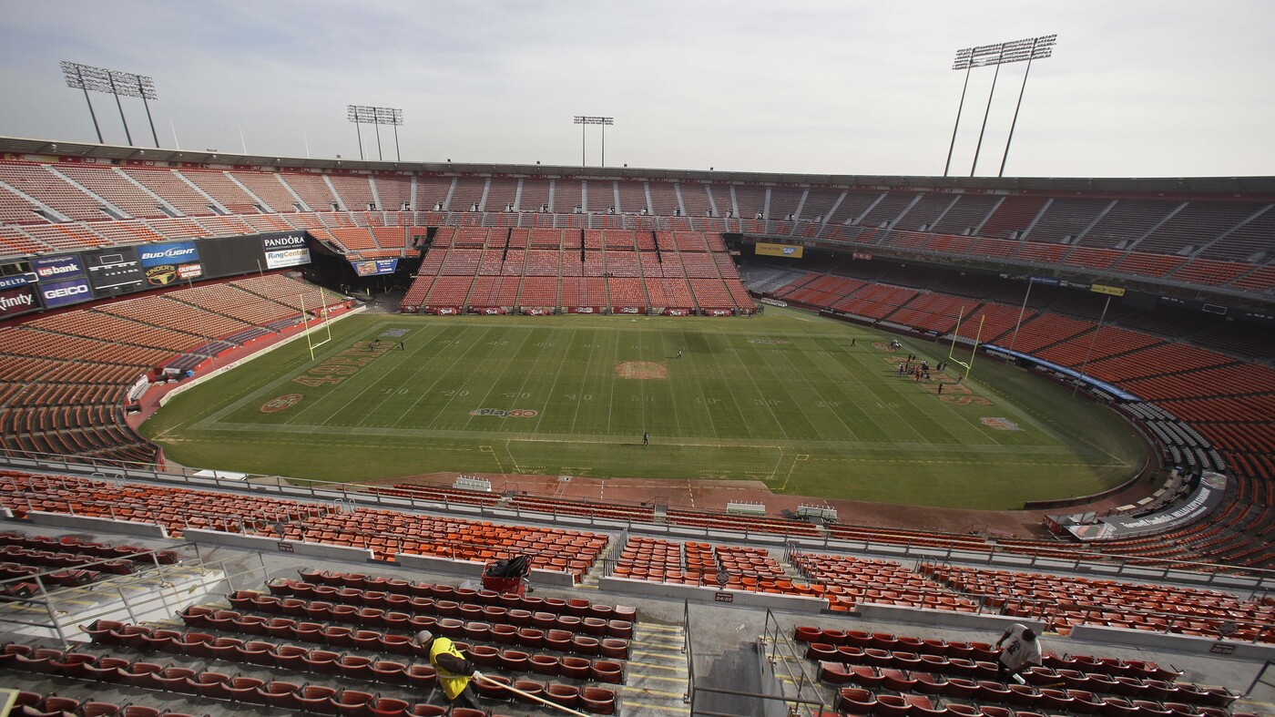 So Long Candlestick Park And Thanks For All The Fog Npr