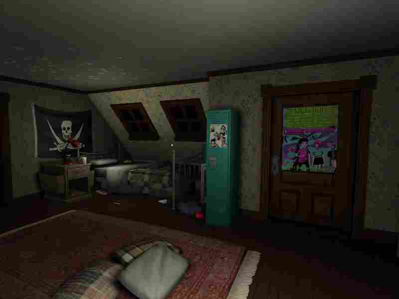 "Billed as a ""story exploration game,"" Gone Home has users exploring an empty house and piecing together why no one is home."