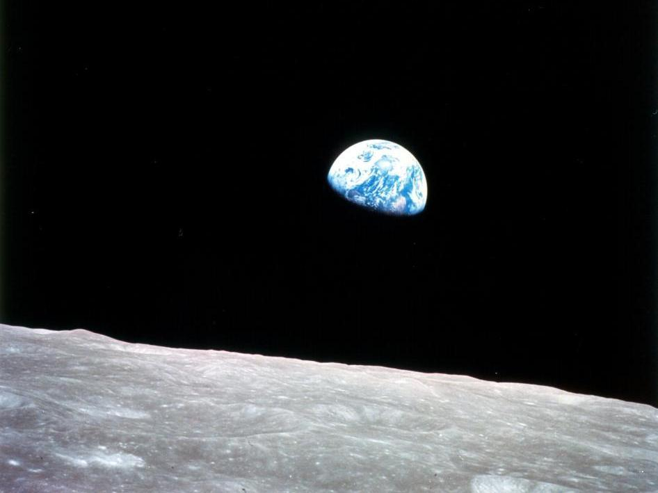 On Anniversary Of Apollo 8, How The 'Earthrise' Photo Was Made