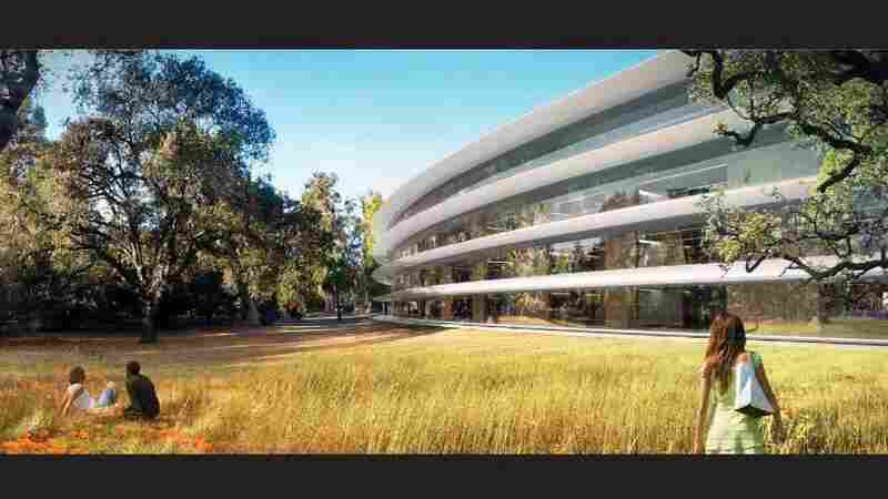 One art historian said the architecture for Apple's new facility aligns well with its product design: seamless and pure.