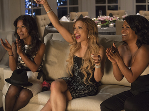 Monica Calhoun (left), Melissa De Sousa and Nia Long star in The Best Man Holiday, one of this year's eleven top-grossing films starring black actors and by black directors.
