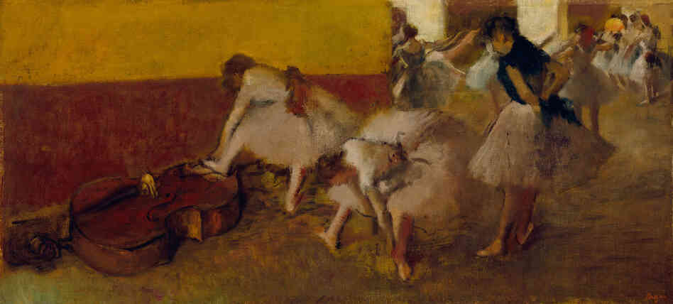 If Detroit does take its artwork to the auction block — which some philanthropists and foundations are trying to prevent — then this piece might sell for $  20-$  40 million, according to Christie's.Dancers in the Green Room, Edgar Degas, c. 1879, oil on canvas.