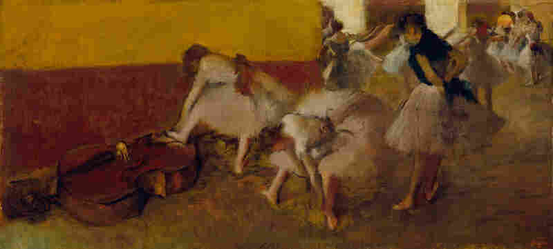 If Detroit does take its artwork to the auction block — which some philanthropists and foundations are trying to prevent — then this piece might sell for $20-$40 million, according to Christie's.Dancers in the Green Room, Edgar Degas, c. 1879, oil on canvas.