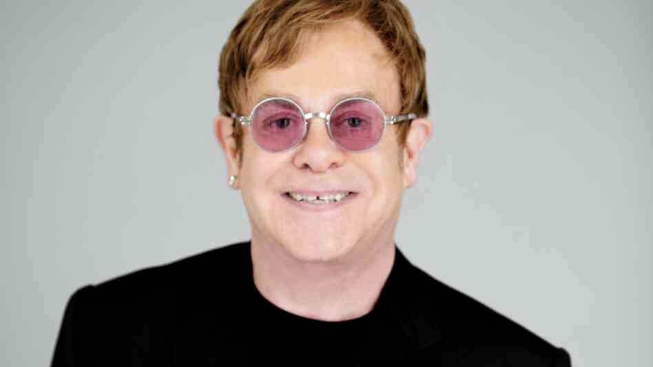 "Elton John tells Fresh Air's Terry Gross that The Diving Board is ""a very adult album."""