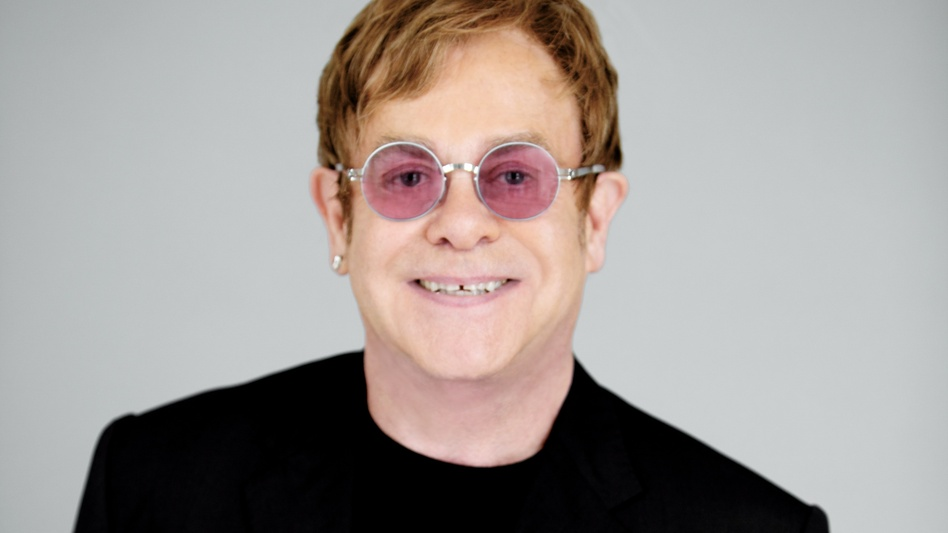 "Elton John tells Fresh Air's Terry Gross that The Diving Board is ""a very adult album."" (Courtesy of the artist)"