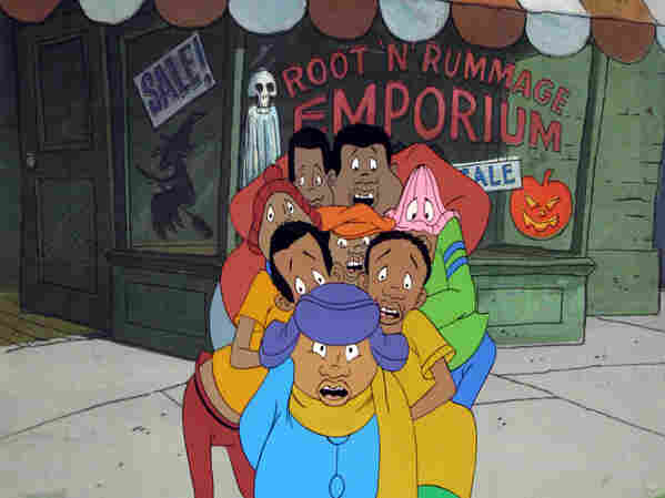 An original production cel for Fat Albert and the Cosby Kids.