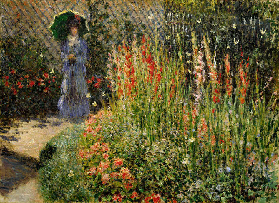 Philanthropist Paul Schaap says selling the Detroit Institute of Arts' masterpieces would devastate the city's morale. Christie's has appraised some works in the collection; the auction house estimates that this piece could bring in $20 million.Gladioli, Claude Monet, ca. 1876, oil on canvas.