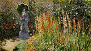 Gladioli, Claude Monet, ca. 1876, oil on canvas.