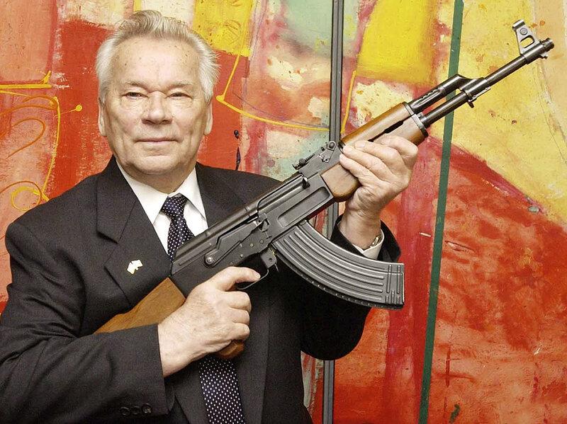 Image result for mikhail kalashnikov