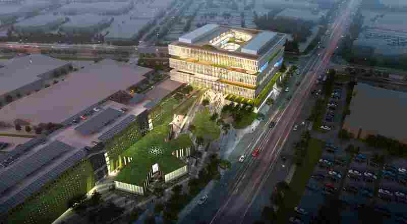 At 1.1 million square feet, Samsung's tower, slated to open in 2015, is built on the street grid of San Jose.