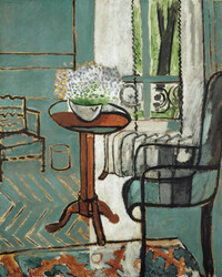 This 1916 Matisse is appraised at $40-$80 million.The Window, Henri Matisse, 1916, oil on canvas.