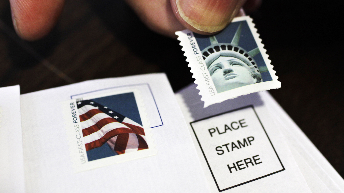 First Class Postage Rate Will Rise To 49 Cents Next Month The Two