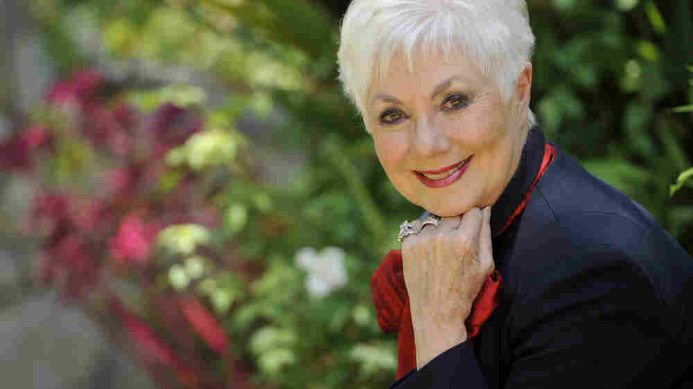 Shirley Jones poses for a portrait at her home in Los Angeles.