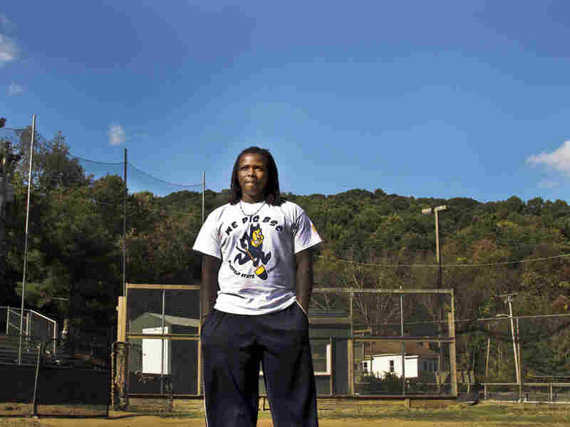 Antonio Bolden, a 19-year-old student and baseball player, is a rarity at historically black Bluefield State University: he's black.