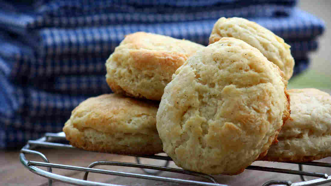 """Susie Chang's story on the versatility of buttermilk was a hit with Kitchen Window readers. Or maybe it was this mouthwatering photo of """"double fluffy"""" biscuits that reeled them in."""