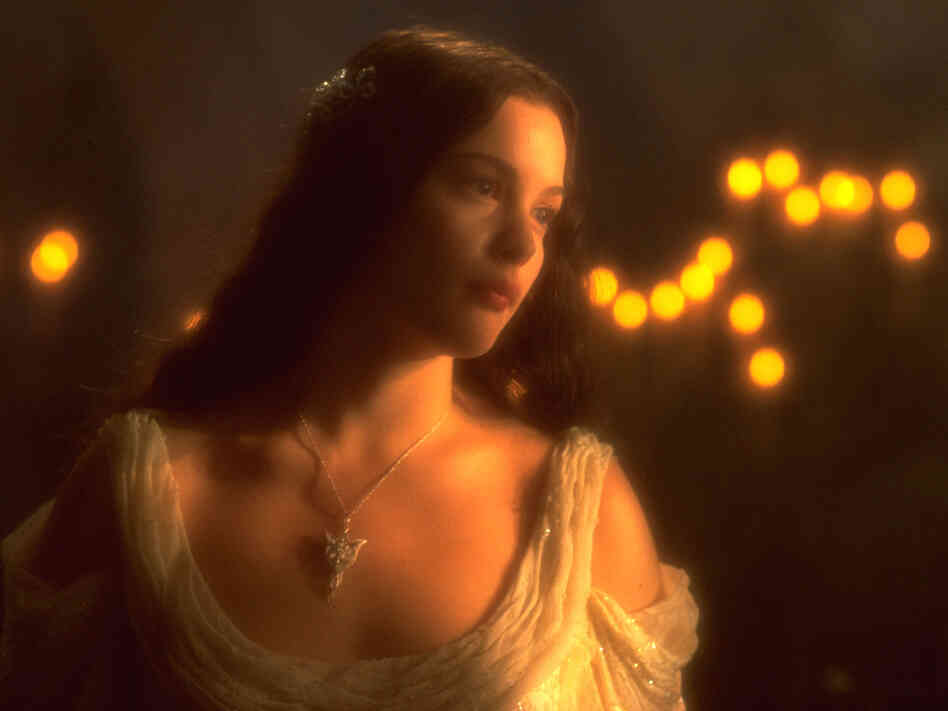 Liv Tyler (the Elven beauty Arwen) in The Lord of The Rings. She's probably not the typical Icelandic elf.