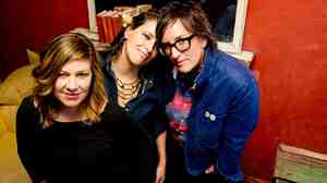Luscious Jackson released a children's album, Baby DJ, last month.