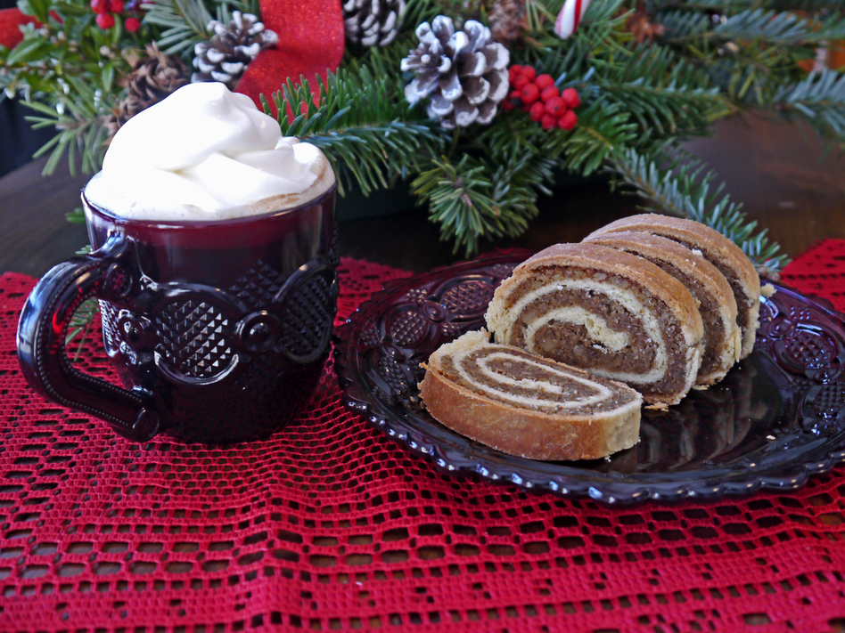Mark Karney found the recipe for his mother's Hungarian nut roll in a dusty recipe box after she passed away. After lots of experimentation, he figured out how to make it and has revived it as a Christmas tradition. (Courtesy of Mark Karney)