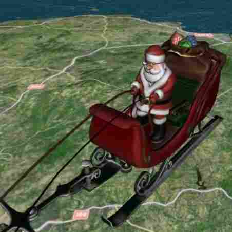 Yes, Virginia, NORAD's 'Santa Tracker' Is On