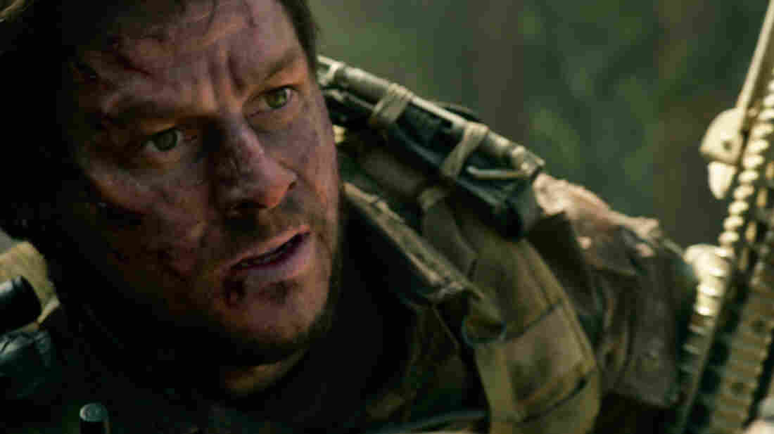 Mark Wahlberg plays Marcus Luttrell in Lone Survivor.