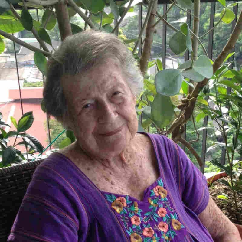 Lehrer's maternal grandmother, Gerda Guttfreund, still lives in El Salvador.