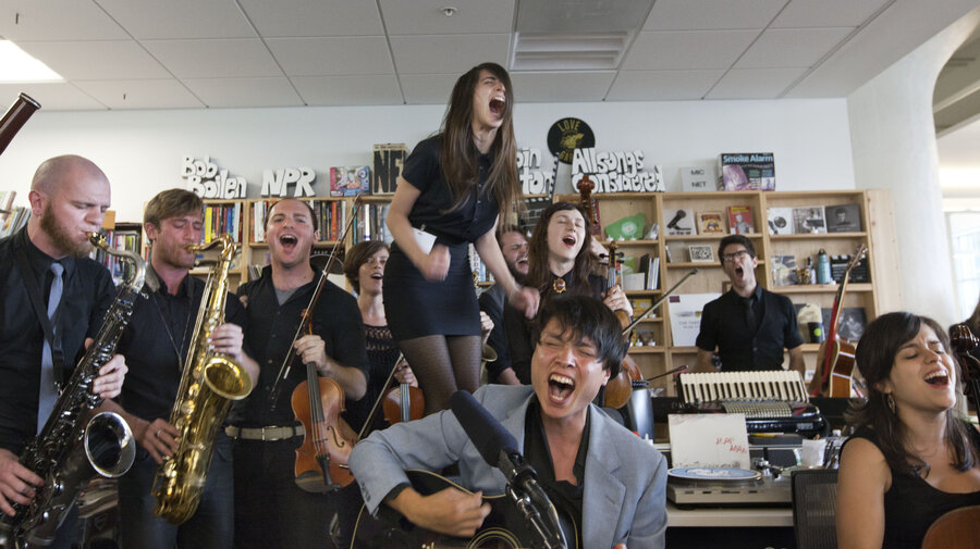 Mother Falcon Performs A Tiny Desk Concert In July 2017