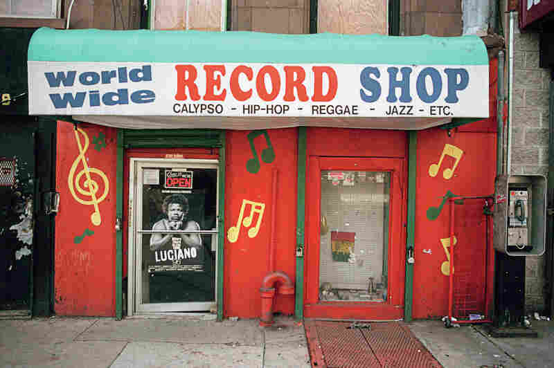19 Record Shop, 2038 Fifth Ave., Harlem, 1996.