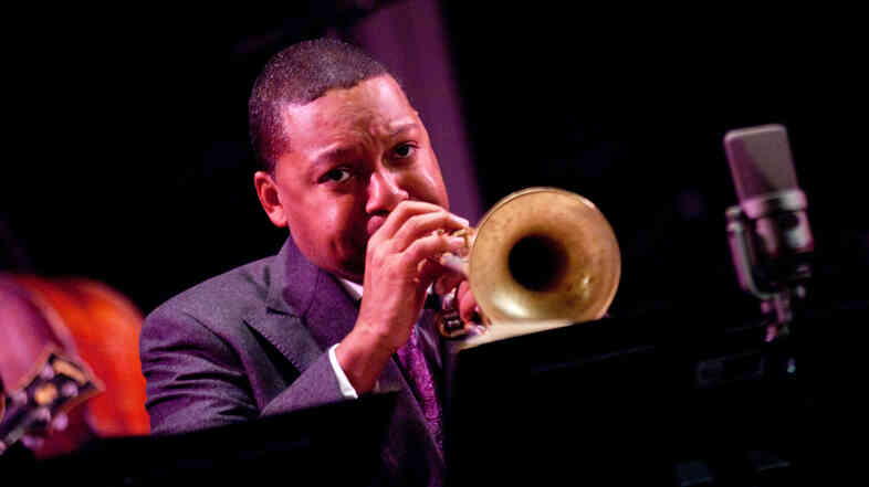 Wynton Marsalis performs during New Year's Eve 2011.