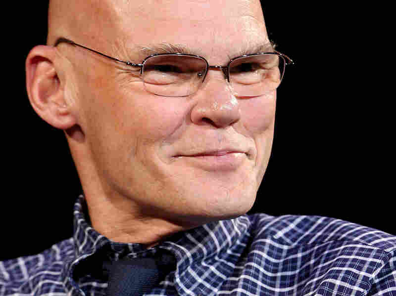 James Carville talks at Madison Square Garden Entertainment's 2009 Speaker Series at Radio City Music Hall in New York, in May 2009.