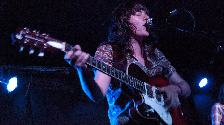 Courtney Barnett performs at the Mercury Lounge in New York City during the CMJ Music Festival in October. (CMJ)