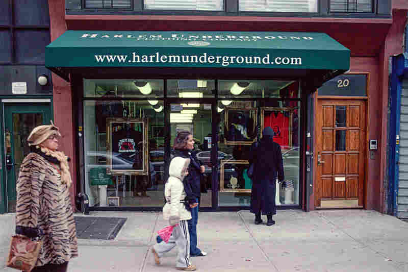 Harlem Underground Clothing Co., 20 E. 125th St., Harlem, 2009.