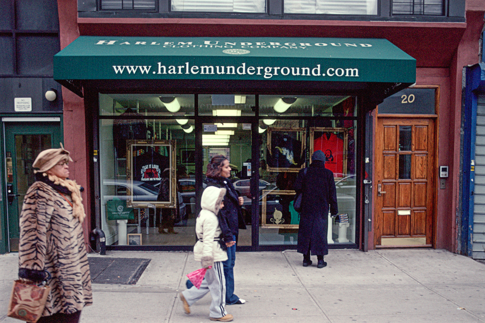Harlem clothing store