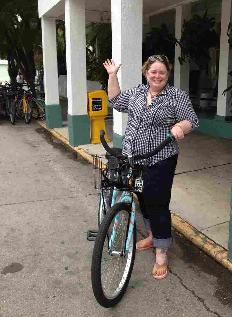 NPR's Petra Mayer has finally learned how to ride a bike.