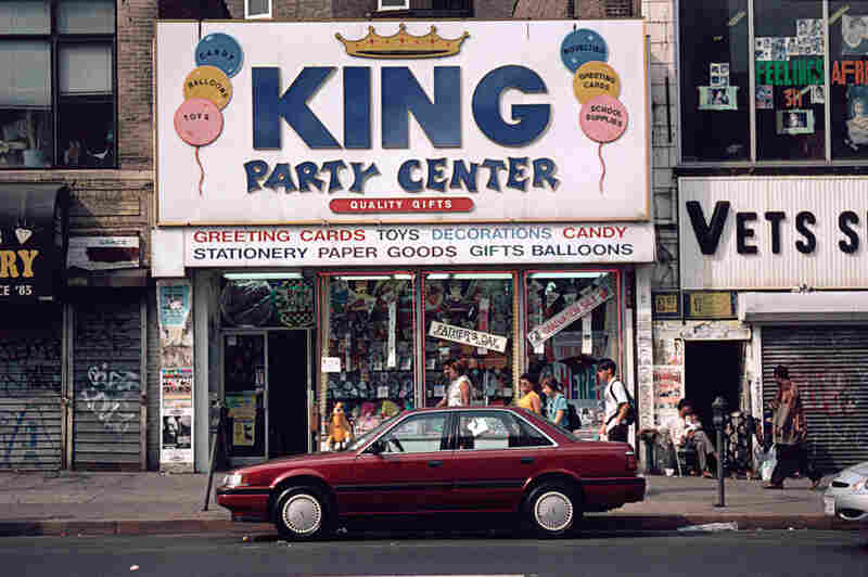 319 W. 125th St., Korean toy store, Harlem, 1996.
