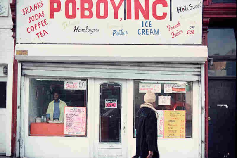 Jamaican restaurant, 20 E. 125th St., Harlem, 1977.