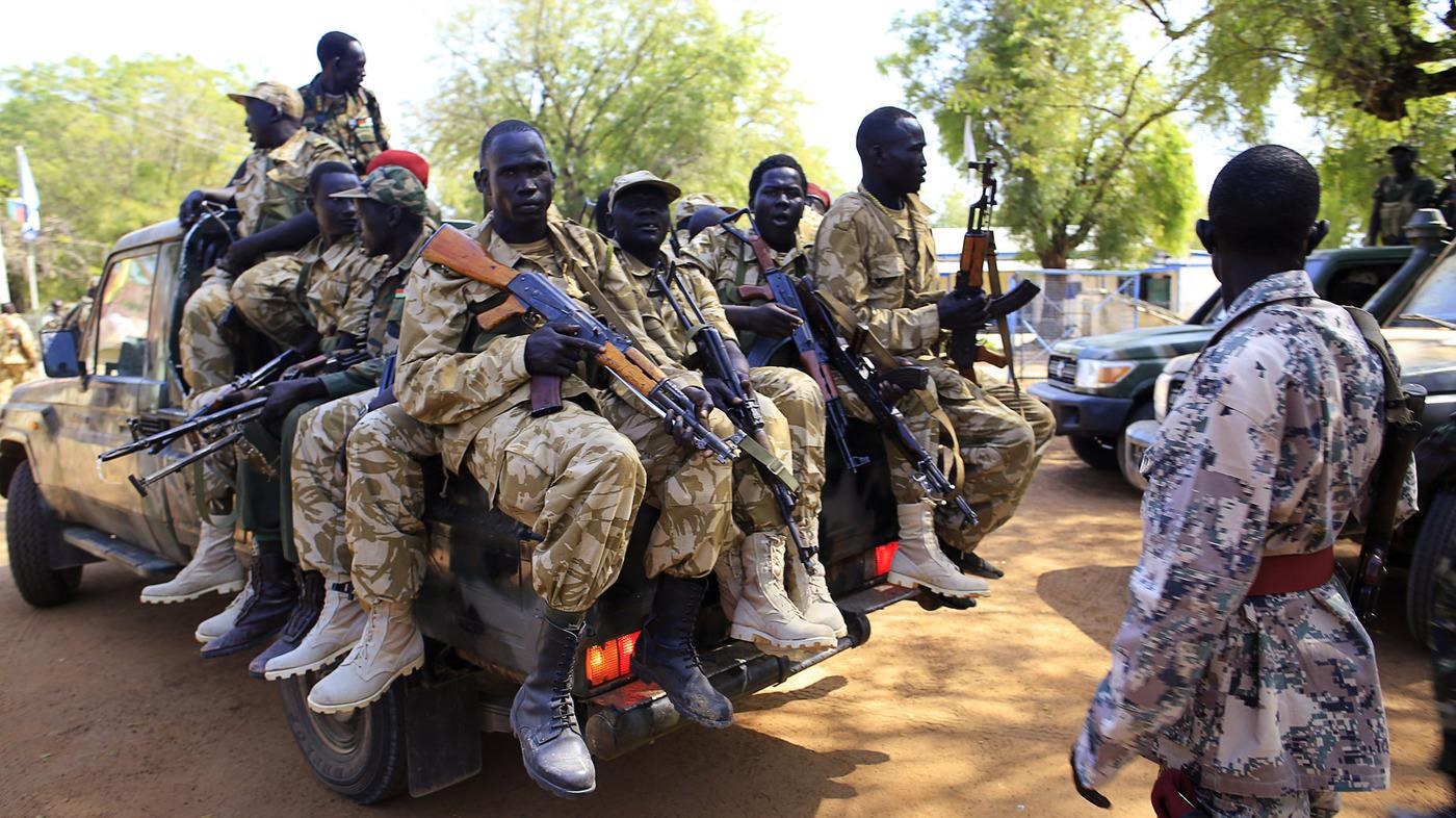 un refuge prepares for possible attack in south sudan