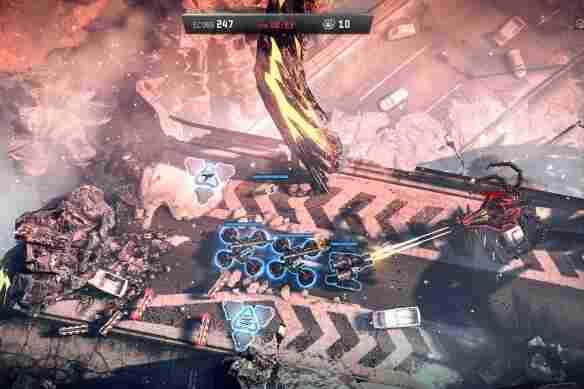 Anomaly 2 puts a unique twist on the tower defense genre, casting you as the aggressor battling alien towers.