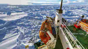 Russian ship MV Akademik Shokalskiy is trapped in thick Antarctic ice, 1,500 nautical miles south of Hobart, Australia.