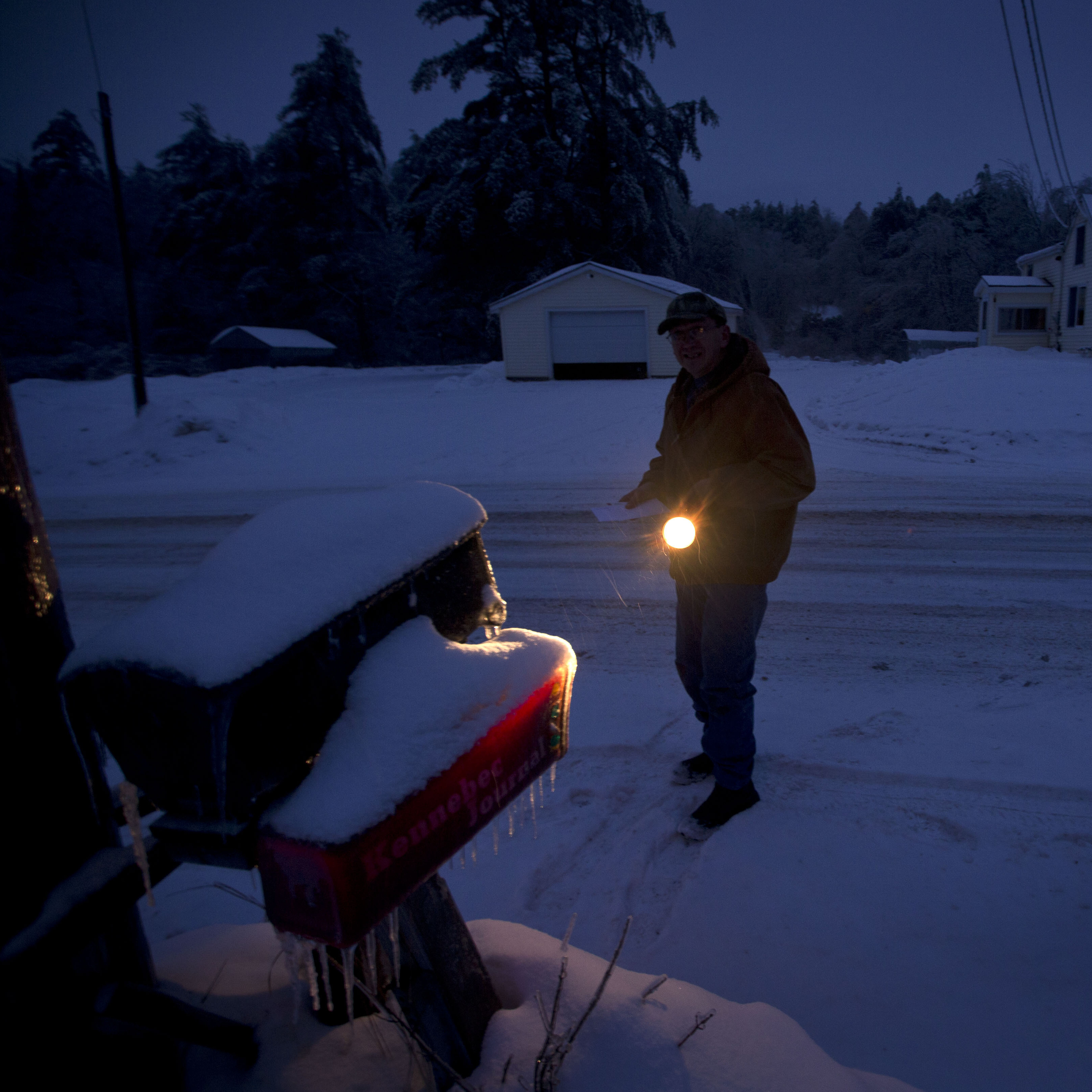 Thousands Still Without Power As More Snow Due To Fall