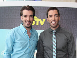 'Property Brothers' Drew Scott and Jonathan Scott at the Scripps Networks Upfront in April 2013.