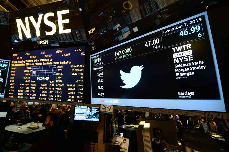 Twitter made its debut on the New York Stock Exchange in November. Both the social media giant and the relative newcomer Snapchat are valued in the billions, but neither company has yet turned a profit.