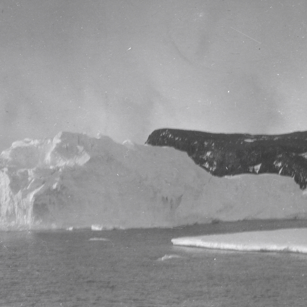 Iceberg and land, Ross Island.